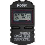 Robic SC-500E silent/audible Stopwatch
