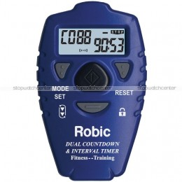 Robic SC-513 silent/audible Dual Interval & Countdown Timer