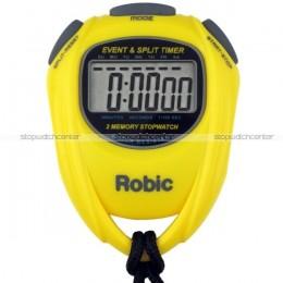 Robic SC-539 Stopwatch - Yellow