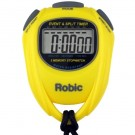 Robic SC-539 Stopwatch - Yellow